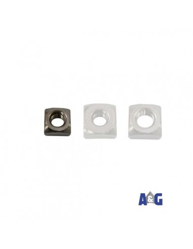 Dado quadro M8 DIN557 A4