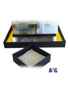 Vaschetta 1600x700 per scaffale 1500x645