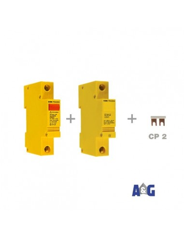 CONTRADE Limitatore di sovratensione CA L 2/20 230 + N-PE