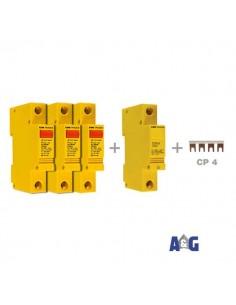 CONTRADE Limitatore di sovratensione CA L 2/20 400 + N-PE TRIFASE