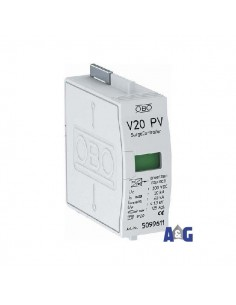 OBO V20-C 0-300PV Cartuccia SPD CLASSE II