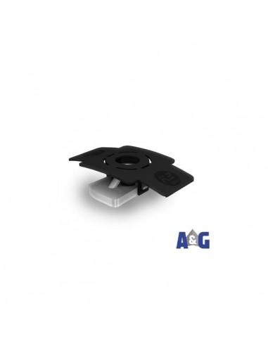 Tassello scorrevole K2 con clip di montaggio M8