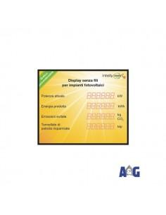 DISPLAY GIG RADIO 3500X1500 4RIGHE personalizzato