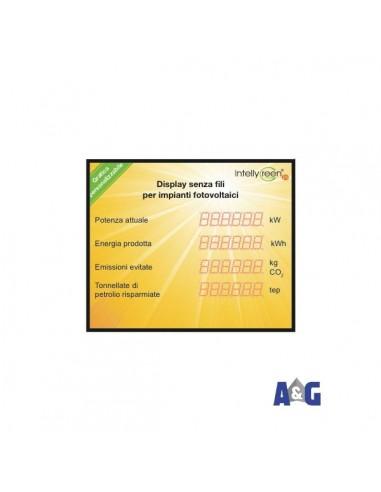 DISPLAY GIG. RADIO 1400X900 4 RIGHE standard o personalizzato