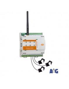 Energy meter radio ZigBee con di 3 TA da 50A / 100A