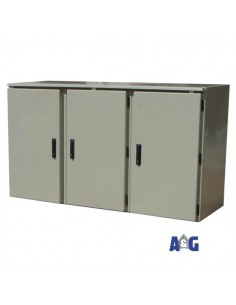 Armadio batterie 1000 x 1400 x 600 in vetroresina