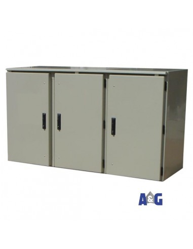 Armadio batterie 1000 x 1400 x 600 IP 65 in vetroresina