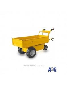 """FORT Transporter elettrico XL 600W guida stegole TM 16/6.50x8 """""""