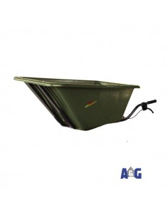 Dumper in plastica 160 Lt (verde)