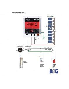 KIT Multi Island sistema per pompaggio acqua da pozzo con alimentazione da pannello fotovoltaico