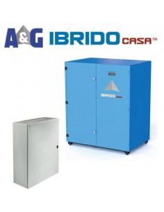 Kit IBRIDOcasa ED 15kWh(C5) inverter 3kVA@25°C monofase 1 MPPT 3000Wp
