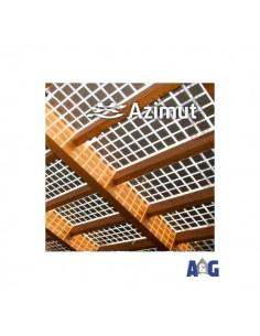 Azimut Daylight trasparente / nero monocristallino