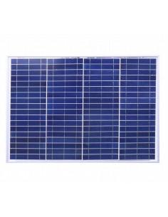 Modulo Fotovoltaico Poli da 40W 18,85V 2,14A dim. 465 x 665 x 34 mm