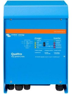 Inverter Off Grid e Caricabatterie Victron Quattro 12/3000/120-50/50
