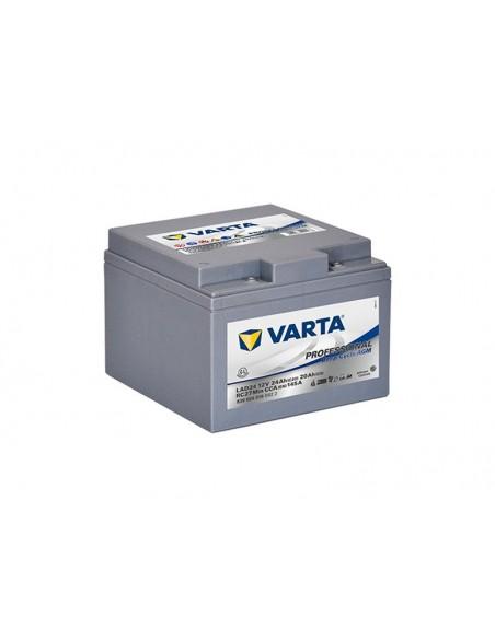 BATTERIA VARTA DEEP CYCLE AGM LAD 12V 24AH