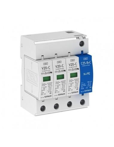 OBO Limitatore di sovratensione AC3 400V SPD CLASSE II