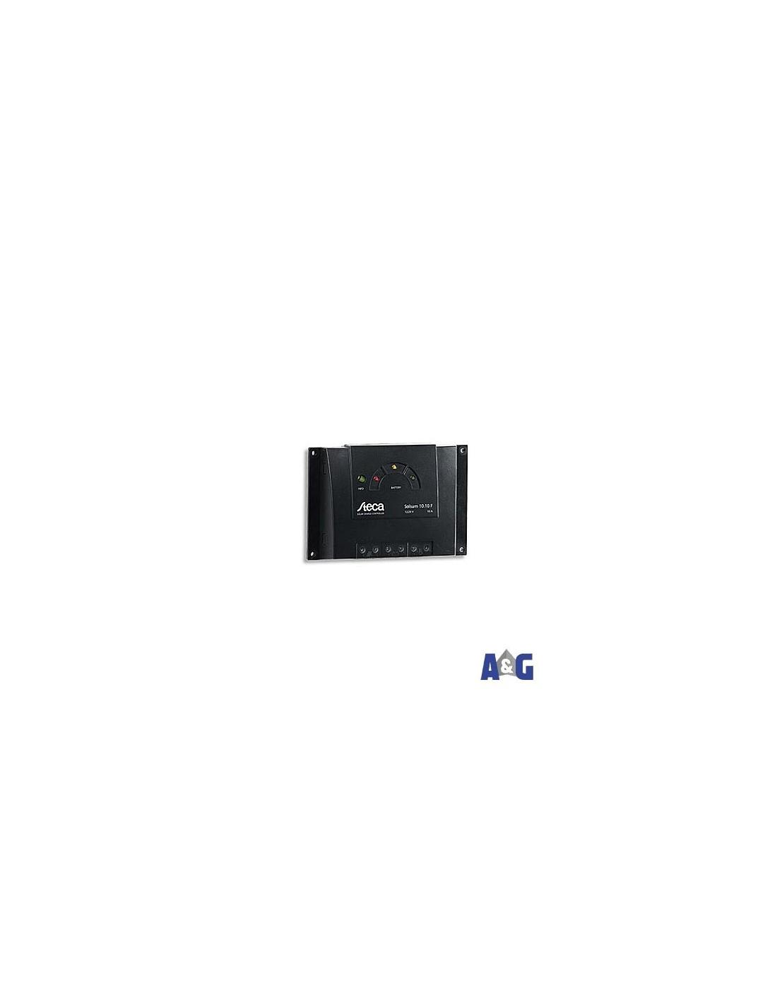 Regolatore di carica solare 12 V 24 V 6 A Steca Steca Solsum 6.6 F